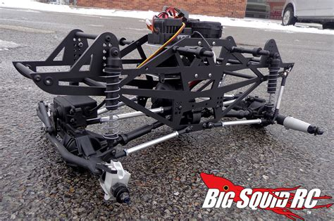 mega truck chassis axial deadbolt mega truck conversion part 2 171 big squid