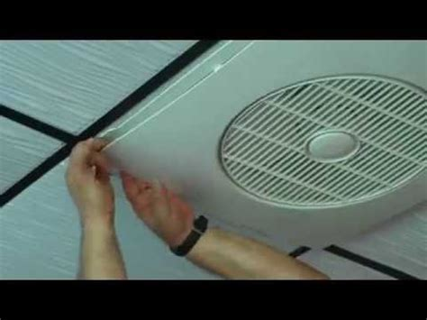 drop ceiling exhaust fan ceiling fan youtube