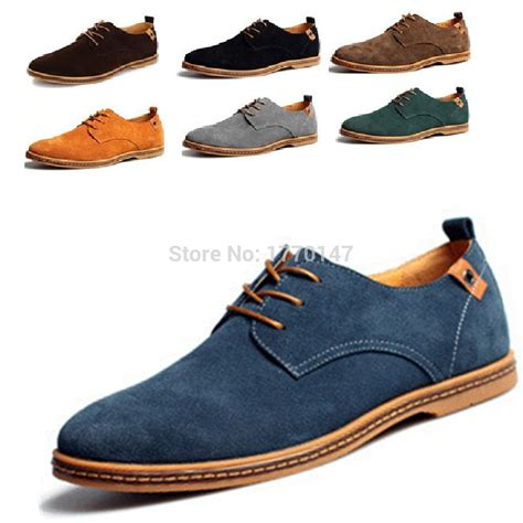shoes for large genuine leather shoes s oxfords casual loafer for