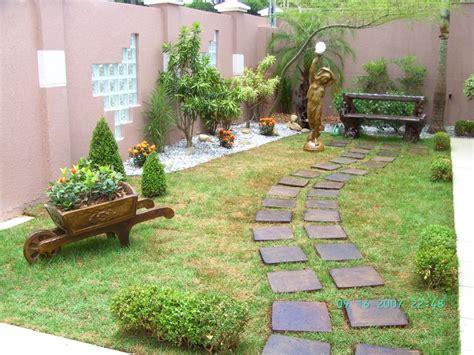 imagenes jardines pequeños para casas jardins residenciais pequenos dicas fotos e modelos