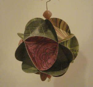 Handmade Paper Ornaments - ornament ideas