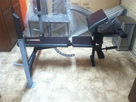 weider 235 bench weight bench weider pro nex tech classifieds