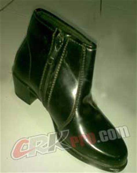 Sepatu Boot Karet Loreng toko sepatu produsen sepatu pdh pdl boot polisi