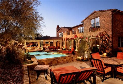 tuscan style backyards travel to tuscany from your backyard