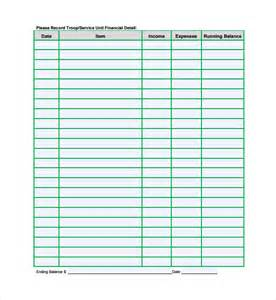 financial spreadsheet template 8 free excel pdf