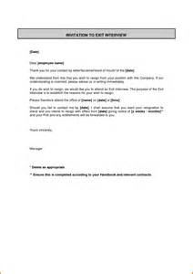 Exit Cover Letter by 8 Exit Letter Sle Employee Financial Statement Form