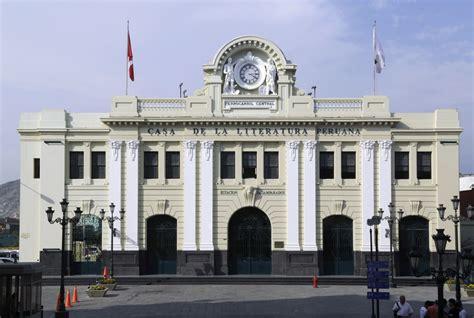 la casa de la casa de la literatura peruana