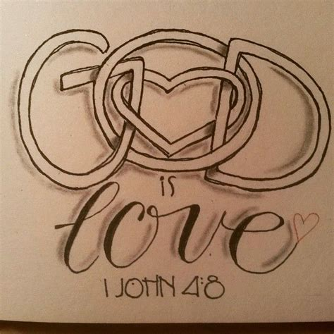 god is love tattoo best 25 1 ideas on 1 3 4 faith