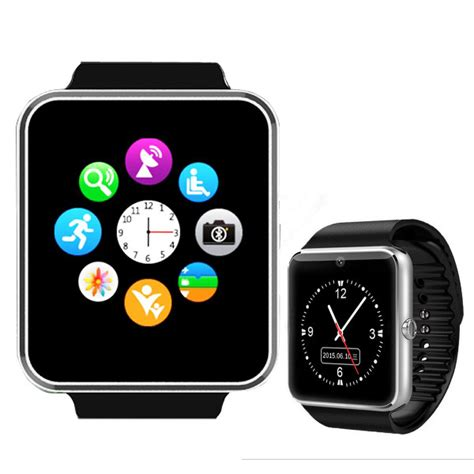 android watches for gt08 bluetooth smart wrist sync notifier with sim