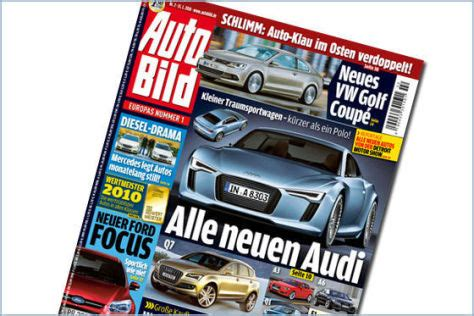 Autobild Inserate by Alle Neuen Audi Autobild De