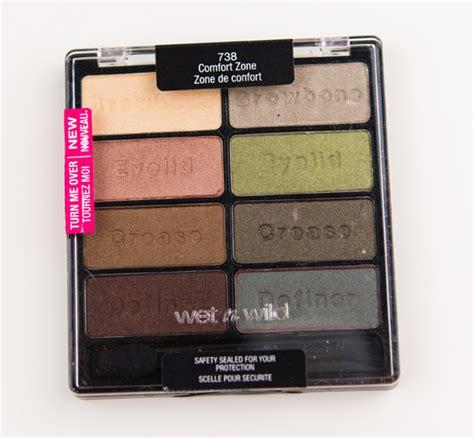 Eyeshadow Zones n comfort zone eyeshadow palette review photos swatches