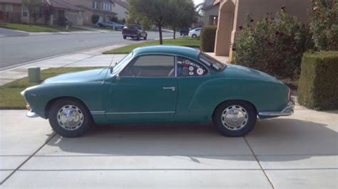 karmann ghia green seller of cars 1966 volkswagen karmann ghia