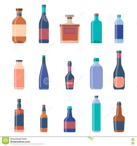 alcoholic drinks bottles different bottles collections beer vintage background