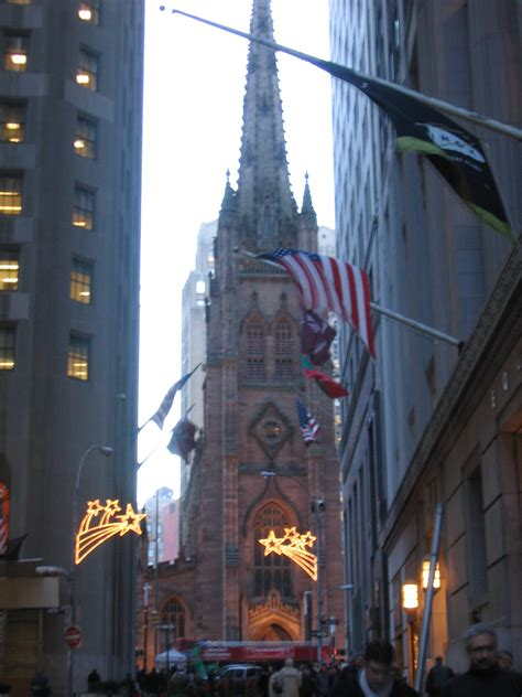 Exceptional Churches In Nyc #2: Trinity_Church_on_Wall_Street_New_York_City_Winter_2003.jpg