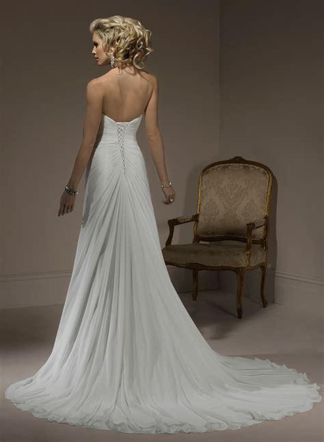 strapless sweetheart wedding dresses