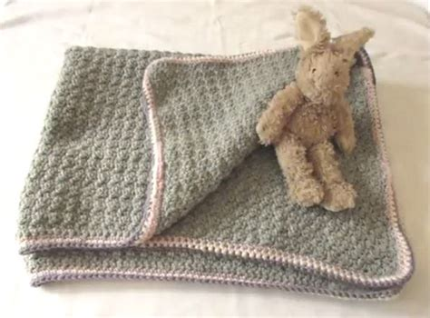 crochet comforter vintage style crochet baby blanket super easy and perfect