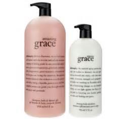 Philosophy Amazing Grace Shampoo Bath Shower Gel Philosophy Amazing Grace Mega Size Shower Gel Amp Lotion Duo