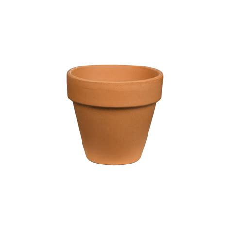 pennington 4 in terra cotta clay pot 100043011 the home