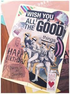 Handmade Photo Collage For Birthday - diy birthday card collage goodies