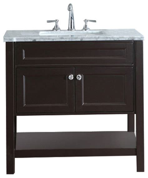 atlas international inc bathroom vanity set espresso