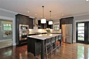 beautiful kitchen islands with seating custom island provides key focal point habersham home
