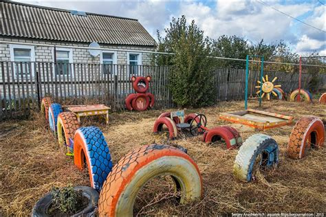 Backyard Toys by Strange Self Made Outdoor Toys In Russia 183 Russia Travel