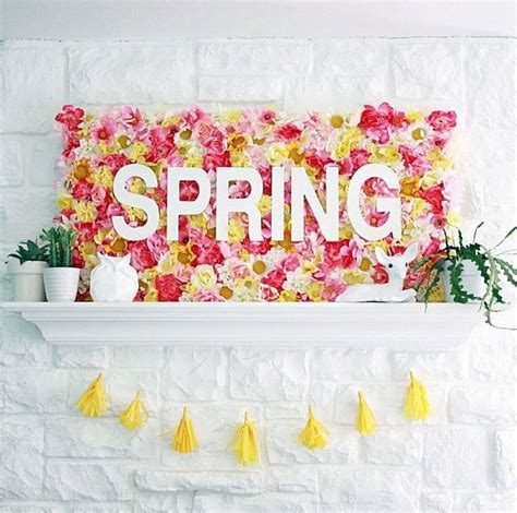 Unique decorating ideas and tips for spring parties