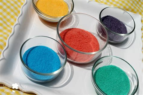 colorful sand how to make your own colorful sand