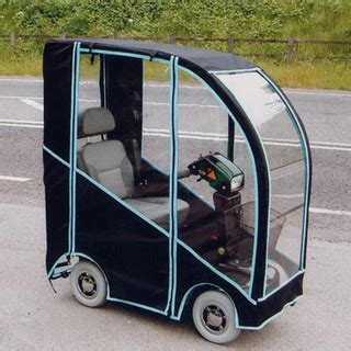 Polycarbonate Mobility Scooter Canopy for Weather