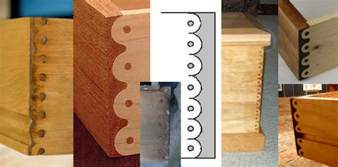 Types Of Drawer Joints by Hobbit House Glossary
