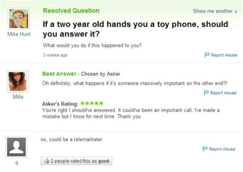 Or Question Yahoo Answers 17 Stupidest Questions Asked The Answers Are Hilarious Viral Puff