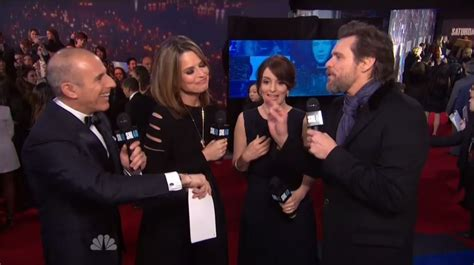 today show weekend cast members 2015 jim carrey to today hosts during snl red carpet show