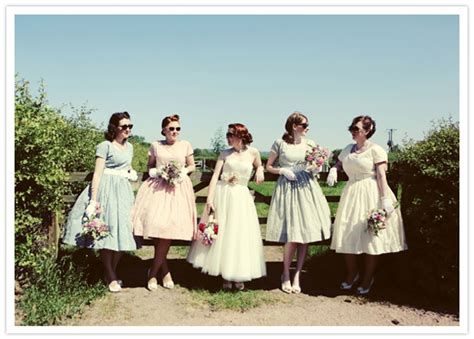 5 Real Weddings To Be Inspired By by Vintage Inspired Picnic Wedding Gareth Real
