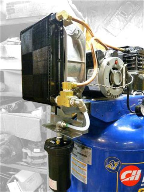 how to aftercool a compressor to remove moisture easy project cnccookbook be a better cnc er