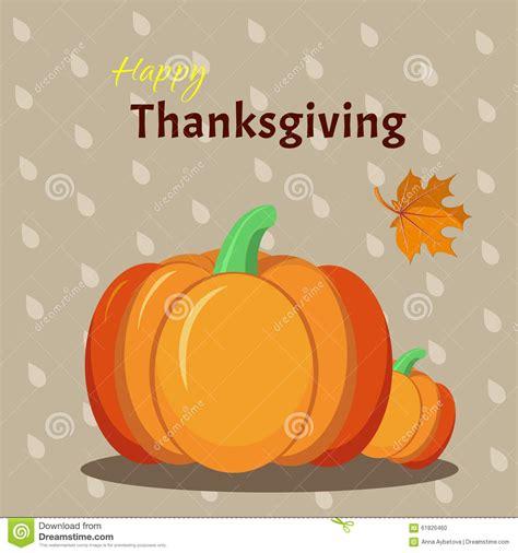 thanksgiving greeting card template greeting card template for thanksgiving day stock vector