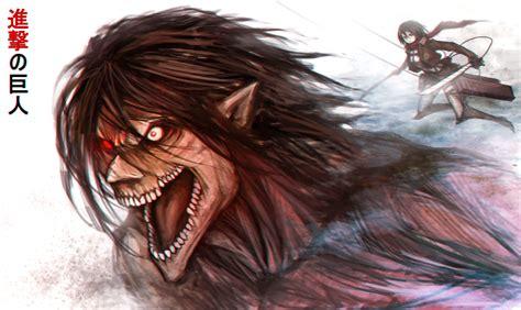 self eren from attack on titan titan form cosplay eren titan form mikasa shingeki no kyojin attack on