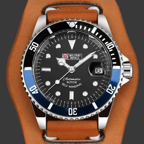 jam tangan pria swiss army 142 royale jam tangan analog automatic pria mr136