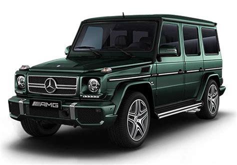 mercedes g wagon green mercedes benz g class g63 amg colors cardekho com