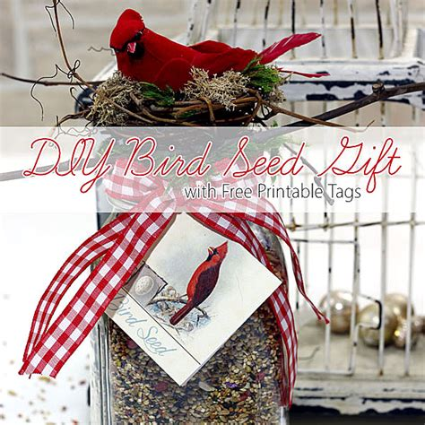 homemade gift  bird lovers tutorial  lovely