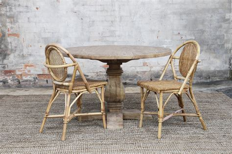 Vintage Verandah Ls cafe side chair ls naturally rattan and