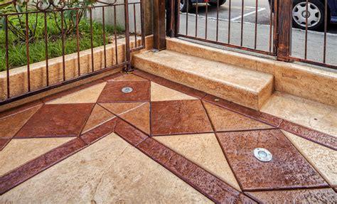 pavimento esterno in cemento pavimento in cemento stato costi e consigli
