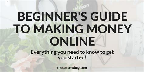 a beginner s guide to making a budget for people who can beginner s guide to making money online the content bug
