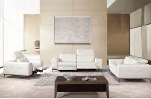 3pc white italian top grain leather sofa loveseat chair electric recliner set ebay