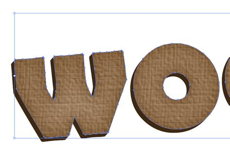 illustrator ungroup pattern vector wood textured text effect using adobe illustrator