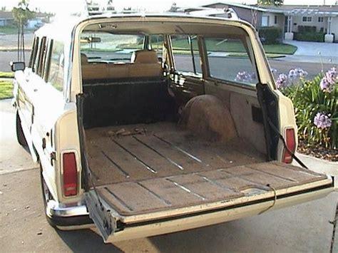 1987 jeep wagoneer interior mcmeeence 1987 jeep grand wagoneer specs photos