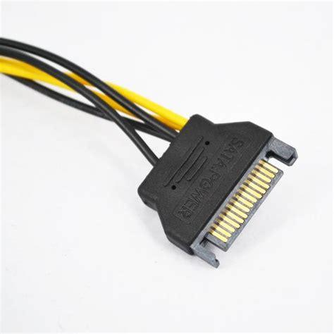 Kabel Awg 18 Aneka Warna Serabut kabel power psu sata ke 6pin atx 18 awg for bitcoin miner jakartanotebook