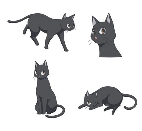 cat s eye anime news network flying witch anime announces cast for familiar characters