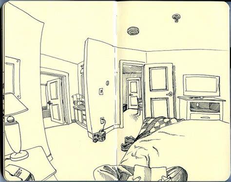sketch room hotel room sketch bozeman flickr photo