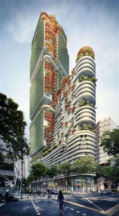 exhibition garden city mega city  woha   york