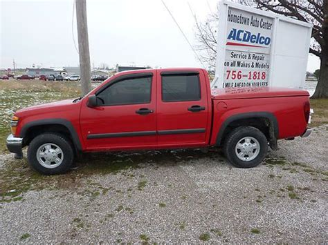 Chevrolet Colorado 4 Door For Sale by Find Used 2006 Chevrolet Colorado Lt Crew Cab 4 Door 4x4 In Harned Kentucky United